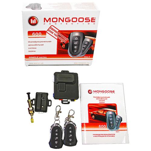 Автосигнализация Mongoose 600 line 4