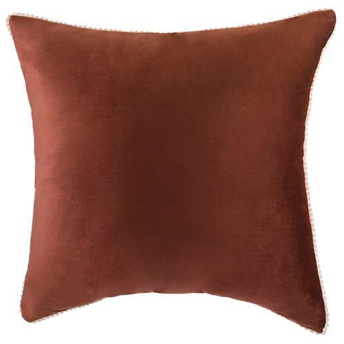 Подушка декоративная фьюжен ,45 см,коричневый,100 процпэ Santalino (850-827-46)
