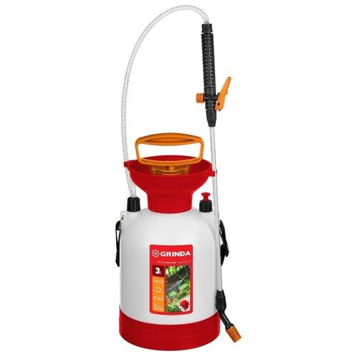 Опрыскиватель GRINDA TS-3 Aqua Spray 3 л белый/красный/черный