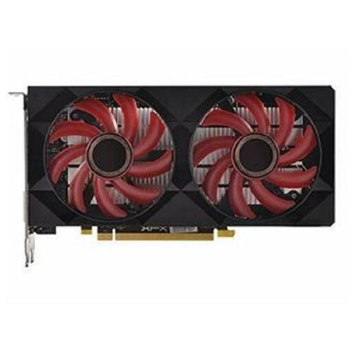 Видеокарта XFX Radeon RX 550 4GB Double Dissipation (RX-550P4PFG5), Retail