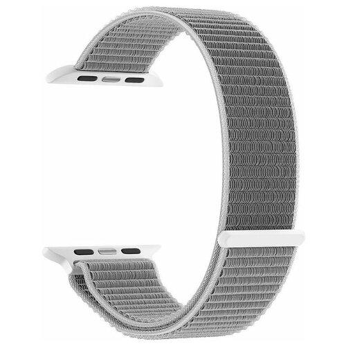 Фото - Ремешок для часов Lyambda для Apple Watch 38/40 mm VEGA DS-GN-02-40-6 Gray-white нейлоновый ремешок для apple watch 42 44 mm lyambda vega ds gn 02 44 6 gray white