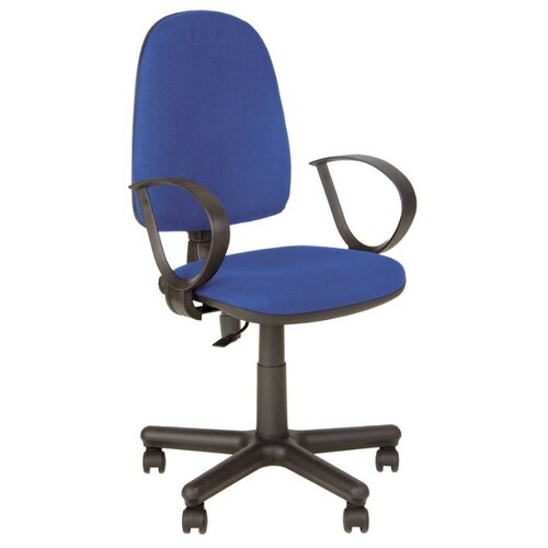 Кресло Комус Jupiter GTP RU, ткань синяя