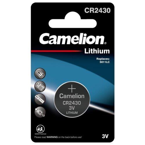 Фото - Батарейка Camelion CR2430, 1 шт. батарейка camelion lr23a 1 шт