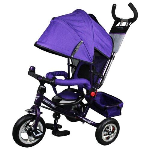 Купить Трехколесный велосипед Street trike A22-1D, сиреневый, Трехколесные велосипеды