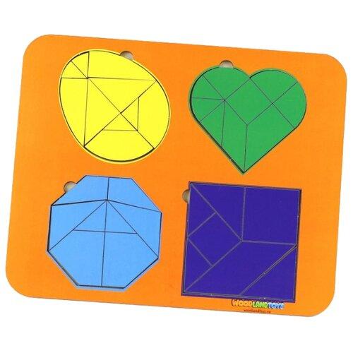 Купить Головоломка Woodland 083306 разноцветный, Головоломки