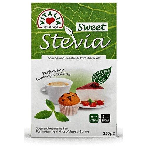 Фото - Стевия заменитель сахара Vitalia 250 граммов заменитель сахара vitalia стевия 250 г