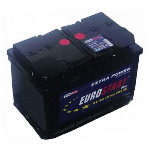 EUROSTART Аккумуляторная батарея автомобильная 77 A/h обратная полярность
