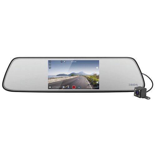 Видеорегистратор iBOX Compass Dual, 2 камеры, черный
