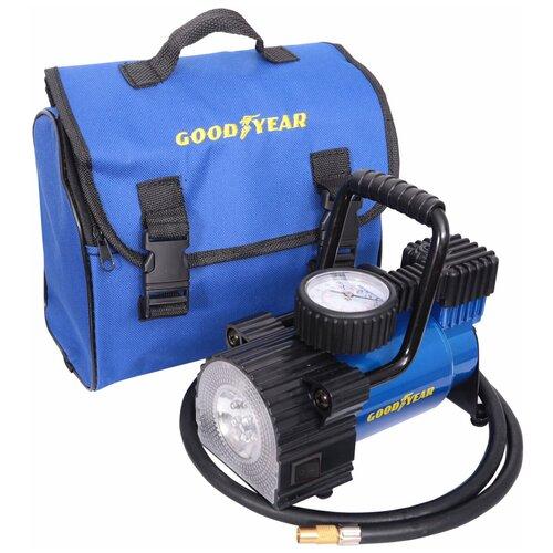 Автомобильный компрессор GOODYEAR GY-30L LED (GY000103) синий/черный