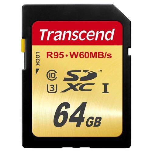 Фото - Карта памяти Transcend TS64GSDU3 карта памяти transcend ts64gusdu1