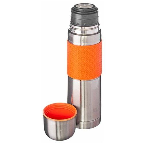 Классический термос Satoshi Kitchenware Ямато 841633, 0.5 л серебристый/оранжевый