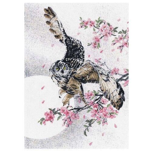 Купить Овен набор для вышивания В цветах сакуры 27 × 39 см (РК-017), Наборы для вышивания