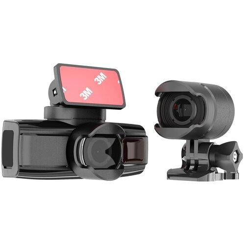 Видеорегистратор DATAKAM DUO, 2 камеры, черный