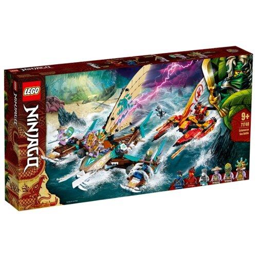 Купить Конструктор LEGO Ninjago 71748 Морская битва на катамаране, Конструкторы