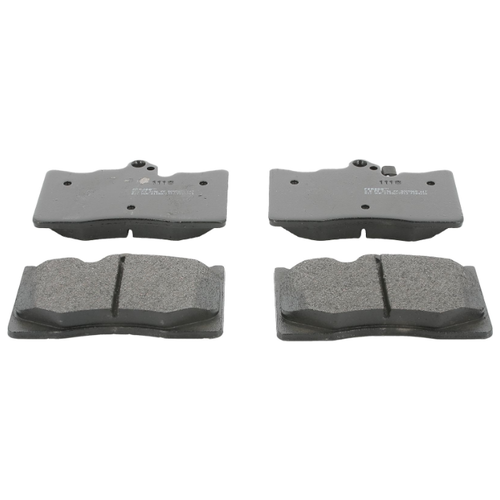 Фото - Дисковые тормозные колодки передние Ferodo FDB4216 для Lexus GS (4 шт.) дисковые тормозные колодки передние ferodo fdb4715 для toyota hilux 4 шт