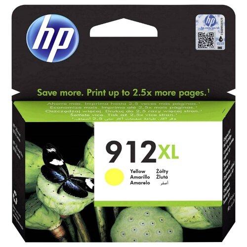 Фото - Картридж струйный HP 912XL 3YL83AE yellow ((825стр.) для HP OfficeJet 801x/802x) (3YL83AE) картридж струйный hp 728 f9k17a голубой 300мл для hp dj t730 t830