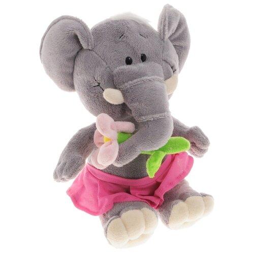 Sonata Style Мягкая игрушка Слон с цветком 22 см