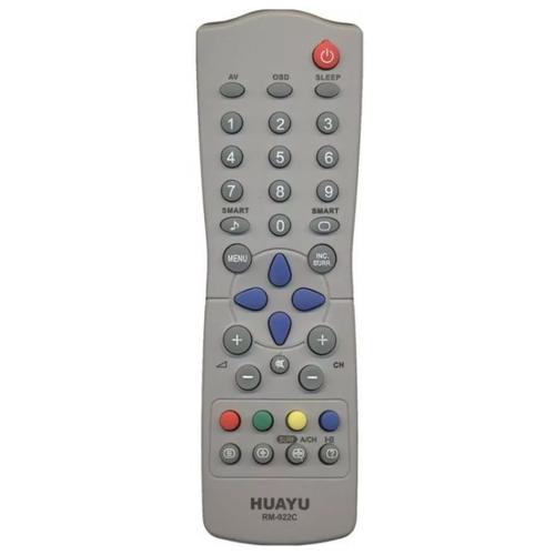 Фото - Пульт ДУ Huayu RM-022C для для телевизоров Philips, серый пульт ду huayu rc 19335019 01 для телевизоров philips 14pf6826 26pf8946 20pf8846 17pf8946 серый