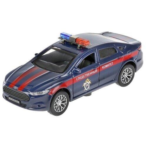 Купить Легковой автомобиль ТЕХНОПАРК Ford Mondeo следственный комитет (MONDEO-12SLCOM-BU) 12 см синий, Машинки и техника