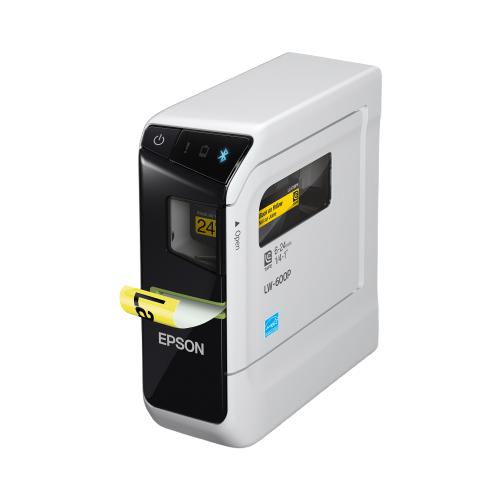 Термотрансферный принтер этикеток Epson LabelWorks LW-600P белый/черный