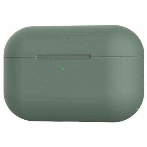 Чехол силиконовый Eva для наушников Apple AirPods Pro - зеленый (CBAP303GR)