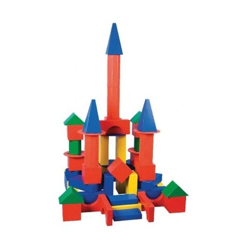 Набор Краснокамская игрушка строительные детали Поликарпова (НСК-02)
