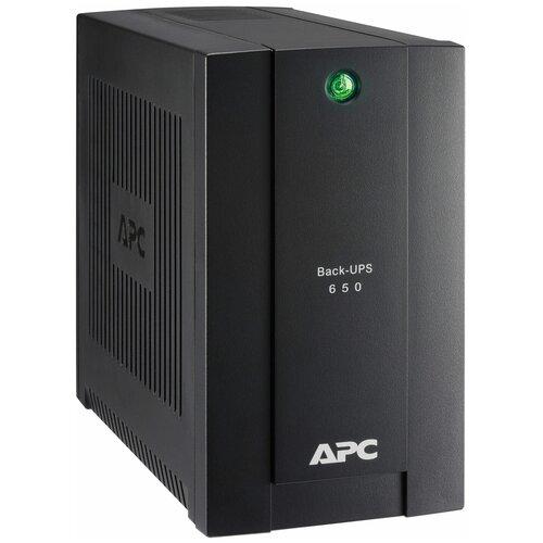Резервный ИБП APC by Schneider Electric Back-UPS BC650-RSX761 ибп apc by schneider electric back ups 650ва bc650 rsx761