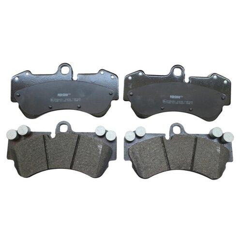 Фото - Дисковые тормозные колодки передние Ferodo FDB4056 для Porsche Cayenne (4 шт.) дисковые тормозные колодки передние ferodo fdb1891 для toyota lexus subaru 4 шт