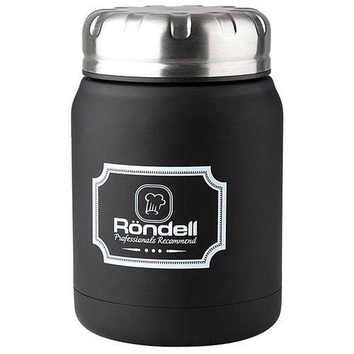 Термос для еды Rondell Picnic, 0.5 л черный