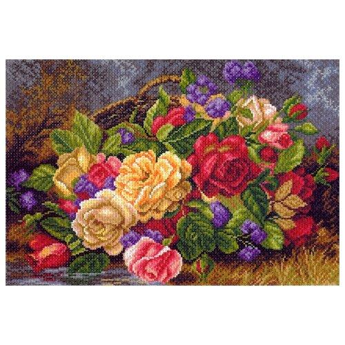 Фото - Матрёнин Посад Набор для вышивания Цветы в корзине 27 х 39 см (1540/Н) набор для вышивания матрёнин посад 1853 н солнечный букет набор для вышивания