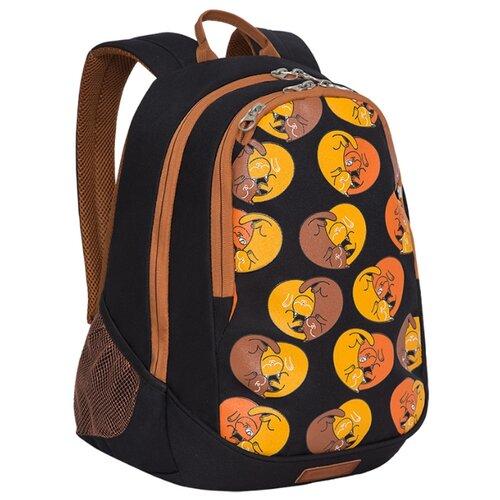 Купить Grizzly Рюкзак (RD-041-3), черный, Рюкзаки, ранцы