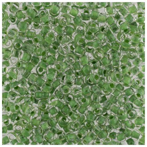 Купить Бисер круглый Gamma 5, 10/0, 2, 3 мм, 50 г, 1-й сорт, Е601, зеленый, Фурнитура для украшений