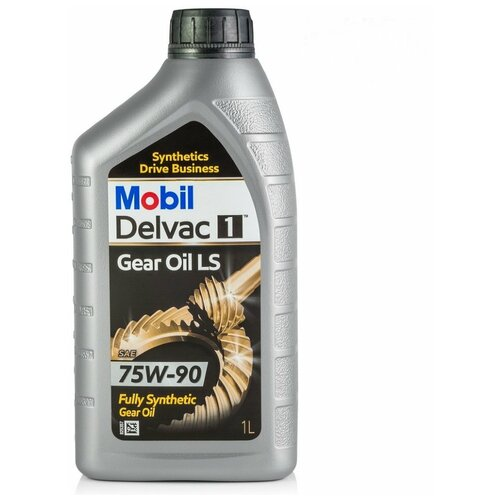 Фото - Трансмиссионное масло MOBIL Delvac 1 Gear Oil LS 75W-90 1 л трансмиссионное масло shell spirax s5 ate 75w 90 1 л