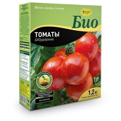 Фото - Удобрение ФАСКО Био Томаты, 1.2 кг удобрение корнеплоды 1 кг фаско уд0102фас35