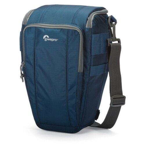 Фото - Сумка для фотокамеры Lowepro Toploader Zoom 55 AW II синий сумка для фотокамеры lowepro toploader zoom 45 aw ii синий