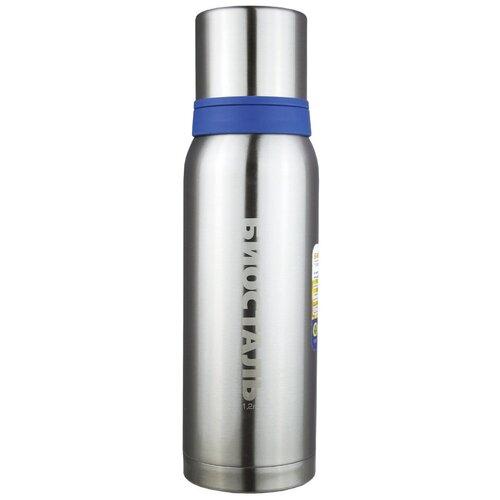 Классический термос Biostal NBA-1200 Охота, 1.2 л синий