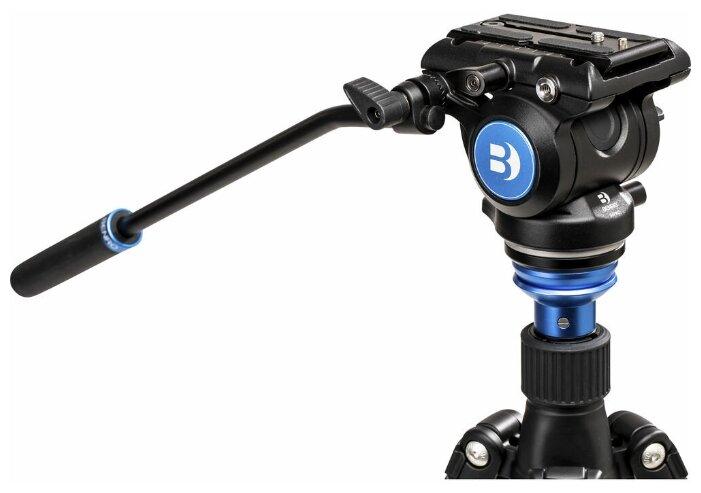 Benro S4Pro видеоголова/4 кг/контрбаланс