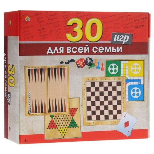 Купить Настольная игра 30 игр для всей семьи , Рыжий кот, Настольные игры