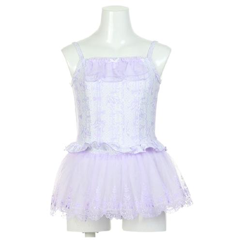 Купальник Chacott размер 100, 18 Фиолетовый