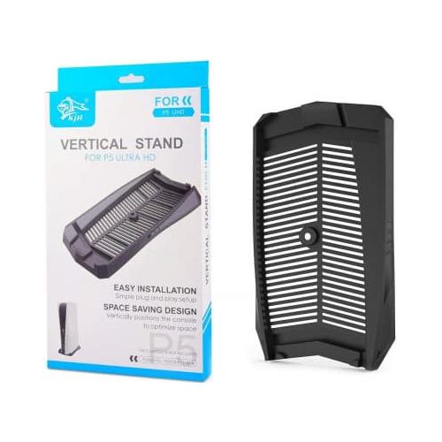 Подставка для вертикальной установки консоли PS5 черная