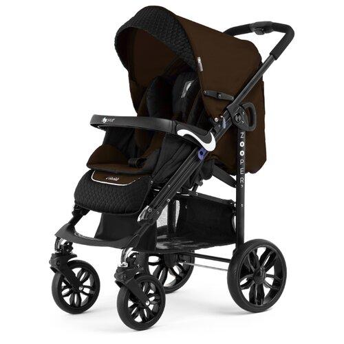 Купить Прогулочная коляска Zooper Z9 Lux Plus bronze, цвет шасси: черный, Коляски