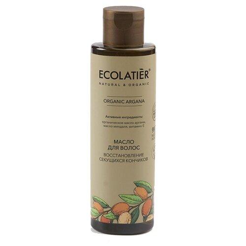 Купить Ecolatier GREEN Масло для волос Глубокое восстановление секущихся кончиков Серия ORGANIC ARGANA, 200 мл, ECO Laboratorie