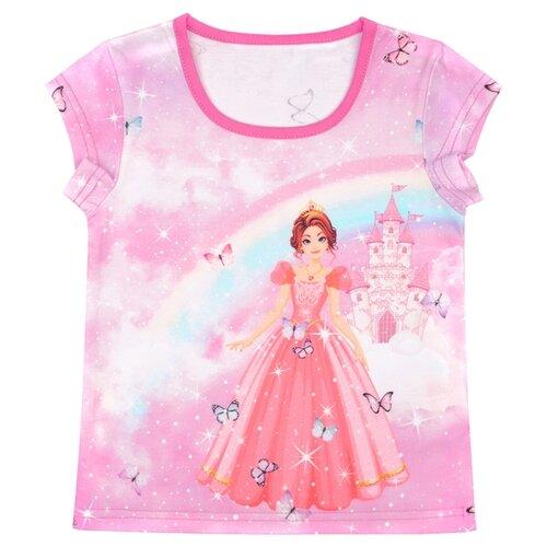 Купить Футболка Апрель, размер 92-50, розовый, Футболки и рубашки