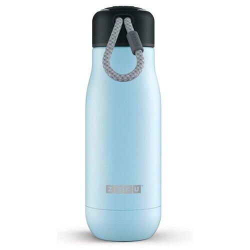 Термобутылка ZOKU ZK141, 0.35 л голубой