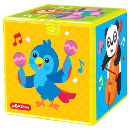 Купить Развивающая игрушка Азбукварик Говорящий кубик Веселый зоопарк мультиколор, Развивающие игрушки