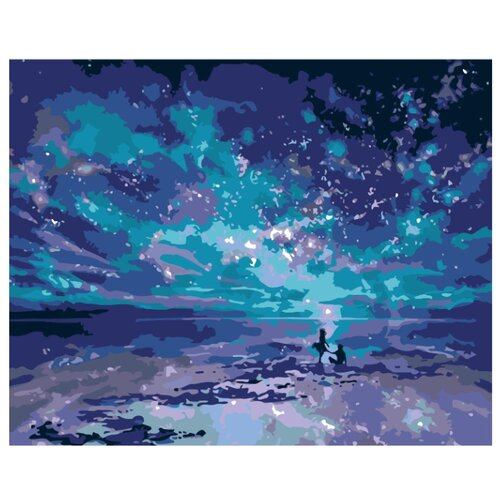 Купить Картина по номерам, 100 x 125, KTMK-55399, Живопись по номерам , набор для раскрашивания, раскраска, Картины по номерам и контурам