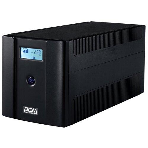 Интерактивный ИБП Powercom RAPTOR RPT-1025AP LCD черный
