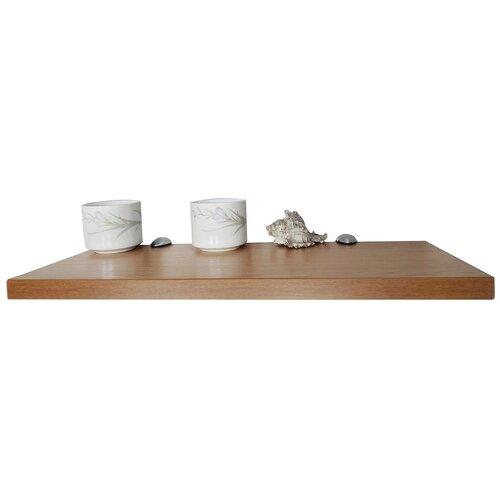 Полка для прихожей ДСП-Магазин Перспектива 50х20х2.2 см, светлый дуб