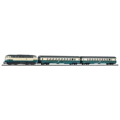 Купить PIKO Стартовый набор Smart Control Light Пассажирский поезд BR 218 , серия Hobby, 59007, H0 (1:87), Наборы, локомотивы, вагоны