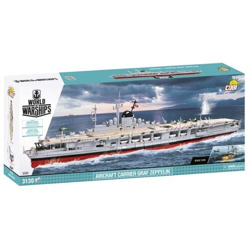Фото - Конструктор Cobi World of Warships 3086 Немецкий авианосец Граф Цеппелин рюкзак verna black 3086 01